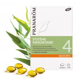 4 - Système immunitaire - 30 capsules | Inula