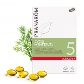 5 - Cycle menstruel - 30 capsules | Inula