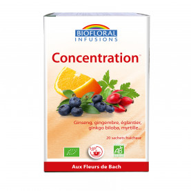 Concentration - memory   Inula