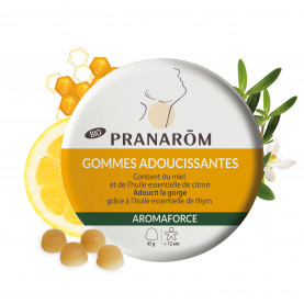 Gommes adoucissantes - Miel/Citron - 45 g | Inula